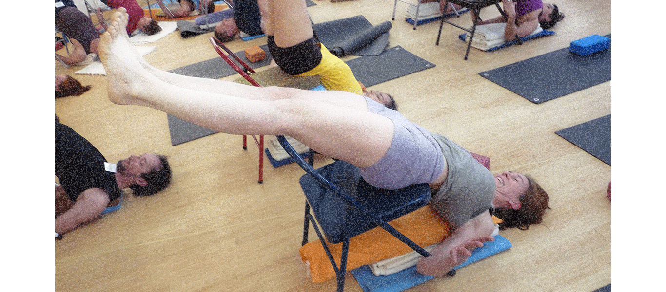 ChairSarvangasana